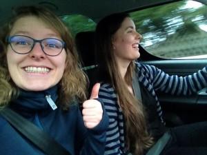 Følelsen af at køre bil efter et par måneder uden!